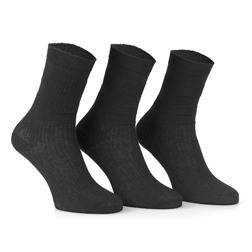 Only Damen 3er Pack Socken Damensocken Comfort Socken Strümpfe Freizeitsocken /%
