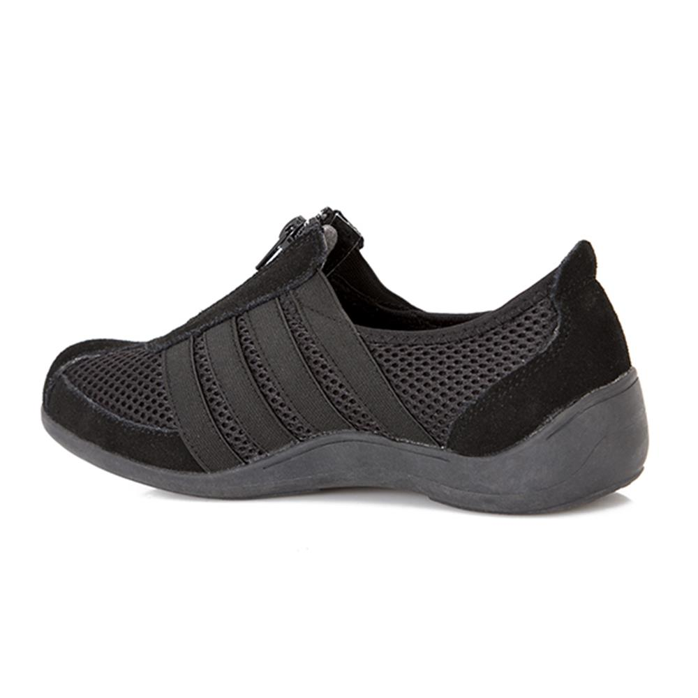 Pavers Womens Casual Zip Up Shoes