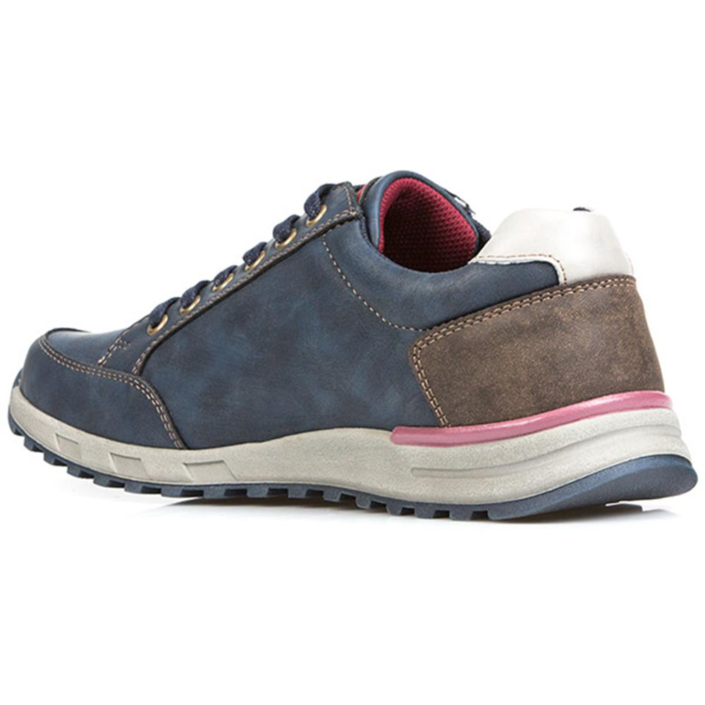 Pavers Mens Lace Up Trainers Soft Upper